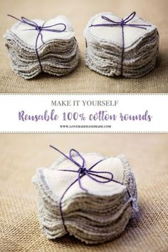"""Make your own reusable machine-washable cotton rounds. 27 Zero Waste DIY Ideas That Will Make You Say, """"My God, It's Brilliant"""" Make your own reusable machine-washable cotton rounds. 27 Zero Waste DIY Ideas That Will Make You Say, My God, It's Brilliant Diy Clothes No Sewing, Sewing Tips, Sewing Tutorials, Reuse Clothes, Clothes Refashion, Makeup Tutorials, Diy Blog, Cotton Pads, Sewing Projects For Beginners"""