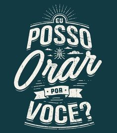 Camiseta - Posso Orar Mais