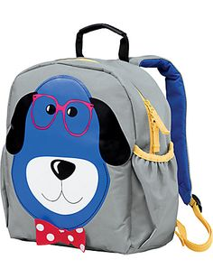 new backpack for the new school year.  Hanna Andersson - Who's That Jr. Backpack