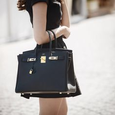Women's Handbags For Every Occasion : Hermes Birkin Bag 35 Sac Birkin Hermes, Hermes Bags, Hermes Handbags, Purses And Handbags, Black Birkin Bag, Burberry Bags, Burberry Handbags, Luxury Bags, Luxury Handbags