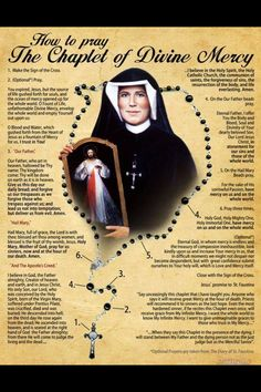 Divine Mercy Chaplet - Miraculous prayer! I had miracles by it!