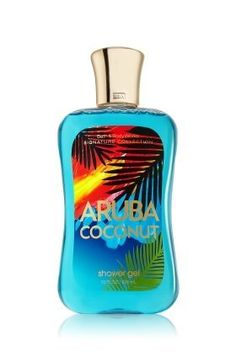 Bath & Body Works Signature Collection Shower Gel Aruba Coconut (10 Fl Oz / 235mL) by Bath & Body Works. $7.95. 100% authentic. brand new never used or tested. Pour a button-sized drop on a damp washcloth or mesh sponge, work into a lather and smooth this over skin. Rinse clean.. Aruba Coconut is an island blend of creamy coconut, exotic lychee and white musk. Size: 10oz. Shower Gel is supercharged with benefits that make it the world's best daily luxury. It has been form...