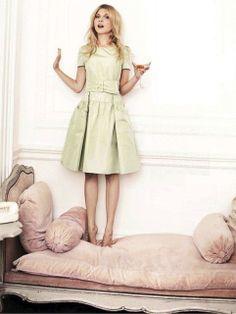Lilla Hanna i Stora världen #daybed #sofa #velvet