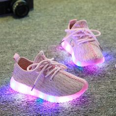 3d9eaccf18c C  14.62 Pas cher Kids Shoes With Light 2016 Spring Baby Boys Girls Shoes  Chaussure
