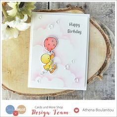 Penny Black Buddy and Duck Birthday Card | Craft For Joy Designs