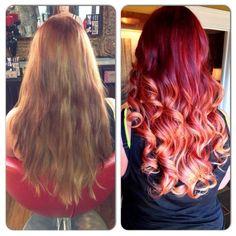Fantastic transformation.