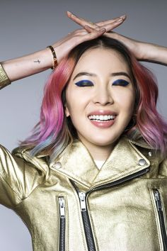 See How Irene Kim Pulls Off 3 Unexpected Beauty Looks | Allure