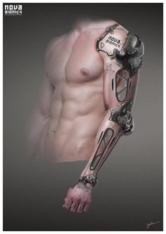 NOVA Bionics - Arm, Georg Löschner on ArtStation at http://www.artstation.com/artwork/nova-bionics-arm-2f9cf520-f525-4b73-9512-46630b20b163
