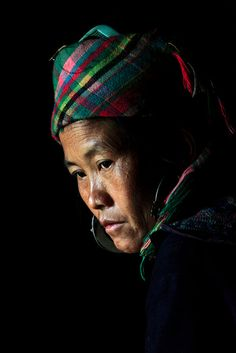 Chu's Mom in Low Light - Sapa, Vietnam