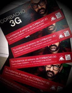 Organizamos el #Corbacho3G Madrid!!!