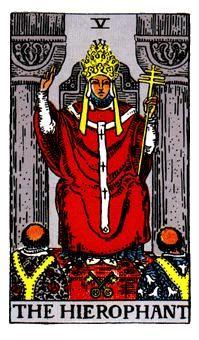 EL SUMO SACERDOTE, Significado de las cartas del Tarot
