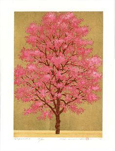 Japanese dogwood tree by Hajime Namiki.
