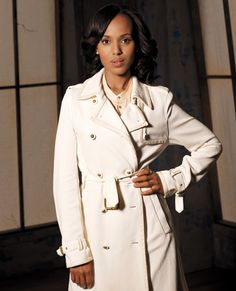Power Dressing Lessons Learned From Female TV Characters - Olivia Pope, Scandal from #InStyle
