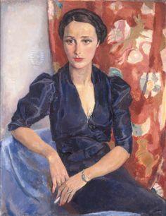 Jan Sluitjers - Portrait de Mme Frankfurther . 1936