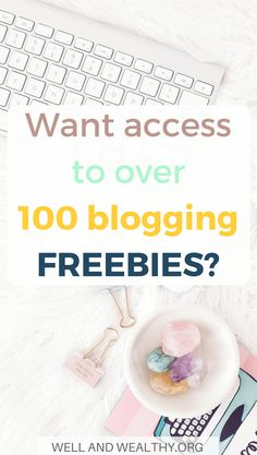 Want a list of over 100 free courses, eBooks, worksheets, challenges, cheatsheets and resource libraries created by the best bloggers out there? Sign up now for the ultimate list of blogging FREEBIES; everything you need to start a blog in 2018! There are resources to help you figure out blogging for beginners, how to make money blogging fast, how to start a blog, how to grow your email list, how to increase your traffic, Pinterest marketing, social media marketing, in fact...