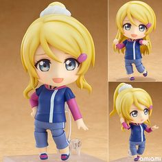 AmiAmi [Character & Hobby Shop]   Nendoroid - Love Live!: Eli Ayase Training Outfit Ver.(Pre-order)