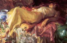 Quang Ho ~ Impressionist Figurative painter