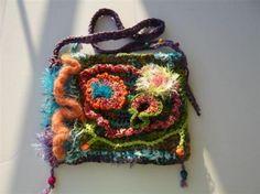 freeform Freeform Crochet, Crochet Purses, Free Coloring, Purses And Bags, Textiles, Hipster Stuff, Tricot, Bags, Crochet Bags