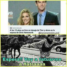 Memes de Sebas #detodo # De Todo # amreading # books # wattpad Chris Hemsworth, Sebastian Yatra, Alone Quotes, L Love You, My Crush, Barbie, Marvel, Lol, Youtube
