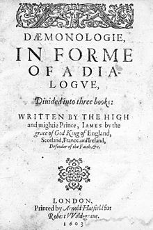 """TIL: King James VI/I wrote a book called """"Daemonologie"""" on necromancy and black magic. It included a study on demonology and the methods demons used to bother troubled men. It also touches on topics such as werewolves and vampires. Incubus Demon, Defender Of The Faith, Witch Trials, Grand Jury, Demonology, Persecution, Writing A Book, Scotland, Prince"""