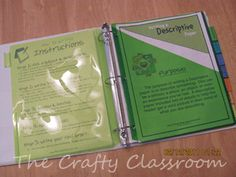 Writing Notebook Printables-Printables for Making a Writing Journal Covering Different Genres