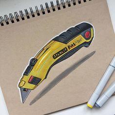 Stanley Knife Sketch