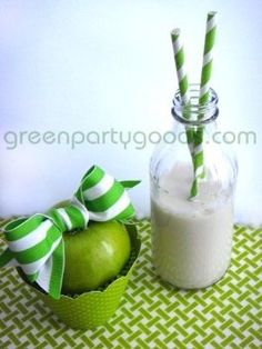 Paper Straws Pack of 144 Lime Green  byGreen Party Goods  4.3 out of 5 starsSee all reviews(6 customer reviews) | Like (3)  Price:$11.34