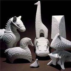 You've got to love Jonathon Adler's white ceramic animal collection.