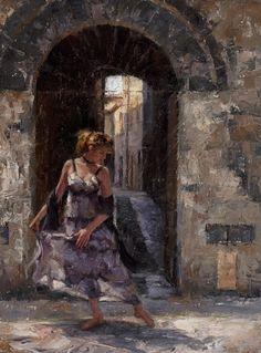 Todd Williams   American Impressionist painter w