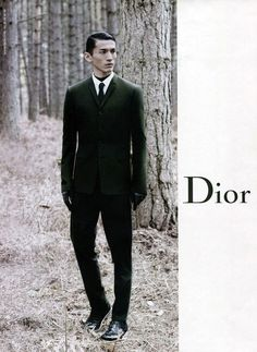 Daisuke Ueda captured by Karl Lagerfeldfor Dior Homme Fall/Winter 2012 campaign.