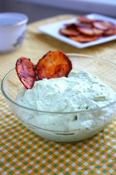 Avocado Garlic Dip