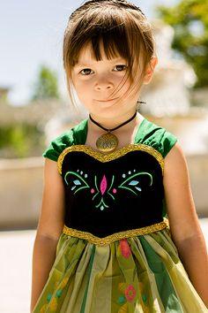 Handmade Princess Anna Coronation Dress Frozen by ChloeMichellesCloset