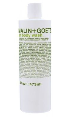 Malin+Goetz Rum Body Wash is currently a household favorite. I love the smell and actually how a little goes a long way.