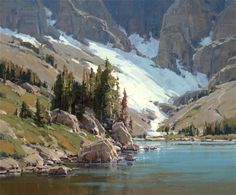 Scott Christensen Artist | Scott-Christensen_Temple-Lake