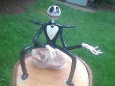 Halloween Jack, Garden Tools, Garden Sculpture, Outdoor Decor, Death, Yard Tools