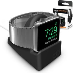 Orzly Compact Stand for Apple Watch Docking Station, Apple Watch, Cell Phone Accessories, Phones, Electronics, Black, Ebay, Black People, Telephone