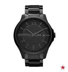 This timepiece from A|X is the perfect watch for the guy who has just about everything.