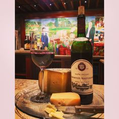 Our V. Sattui Napa Valley Cabernet paired with Dutch Vintage Extra aged Gouda.
