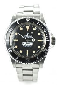 'Rolex Comex Submariner' Probably one of the most rare, and therefore desirable, Rolex watches is the Rolex COMEX Submariner. Designed for the professional diver in the late 1960s following a commission by Compagnie Maritime d'Expertises (COMEX) the first prototypes were released between 1969 and 1971 and given the model number 5513.