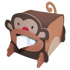 monkey Tissue box Cover