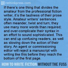I want to write a fiction book