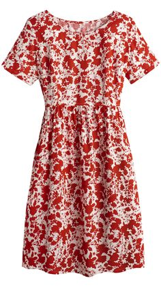 Floral Print Smock Dress - Petite at Simply Be Petite Dresses, Plus Size Dresses, Plus Size Outfits, Over 60 Fashion, Over 50 Womens Fashion, Jersey Knit Dress, Jersey Dresses, Travel Dress, Travel Wear