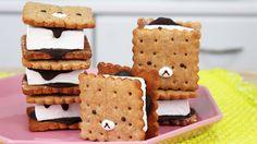 How to Make Rilakkuma S'mores does your valentine like smores? Make these KAWAII smores! :)