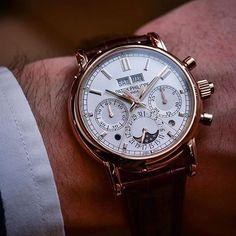 The exceptional Patek Philippe ref. 5204 In Rose Gold,Split Seconds Chronograph, Perpetual Calendar #beautifulmenswatches #patekphilippe #watch #watchporn #watchnerd #watchfam #wristcheck #audemarspiguet #rolexero #wis #wus #bracelet #womw #baselworld #menwithclass #clockporn #mr #watchcollectinglifestyle #cartier #iwc #seiko #fredericjouvenot @monochromewatch