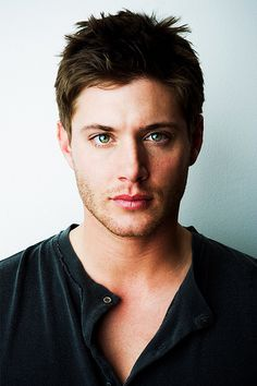 Jensen Ackles.  I started out as more of a Jared fan, and I still like Jared, but this face... I think Jensen has the most handsome face.