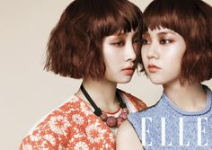 KARA's Nicole and Seungyeon are twins for 'Elle' #allkpop #kpop #KARA