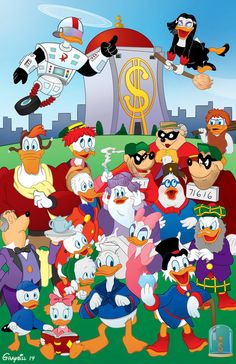Ducktales (Woo-hoo!) by GeorgeGraybill on DeviantArt