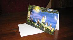 Storyteller  5.5x8.5  Blank Note Card / Greeting Card FREE SHIPPING. $4.00, via Etsy.