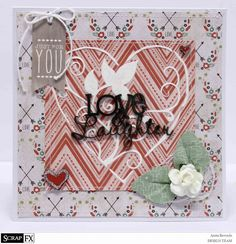 card by anita bownds for #scrapfx using #kaisercraft