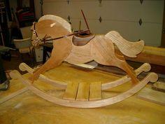 wood rocking horse pattern
